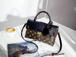 Сумка стильная кросс-боди, клатч Louis Vuitton One Handle (Луи Витон) реплика LV1