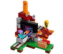 Lego Minecraft Портал в Подземелье 21143, фото 5