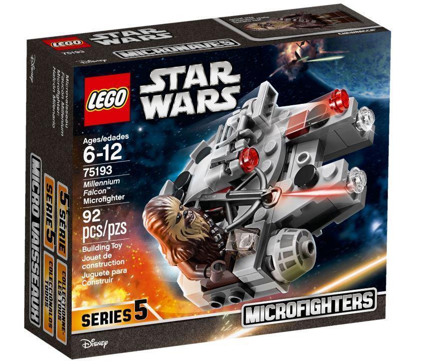 Lego Star Wars Микрофайтер Сокол Тысячелетия 75193
