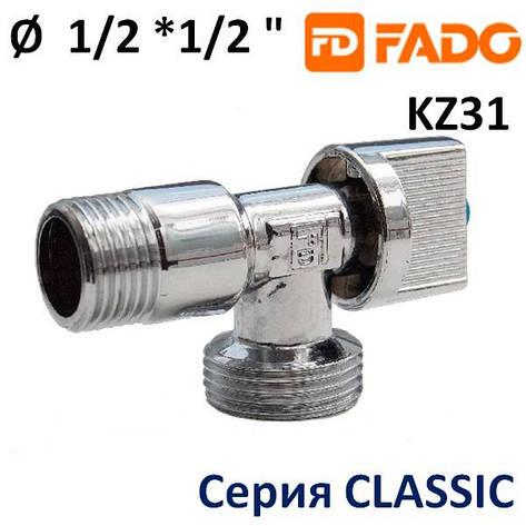 Кран угловой FADO Classic 1/2x1/2, фото 2
