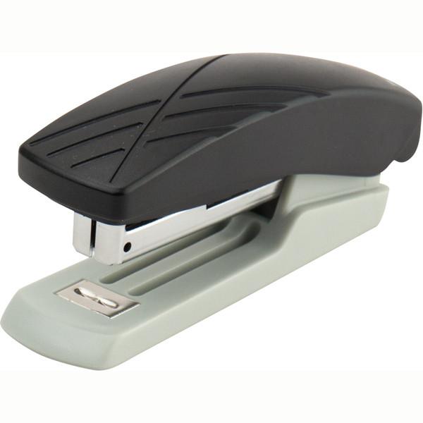 Степлер Axent Duoton 4710-06-A пластиковий, №10, 10 аркушів, сірий/чорний