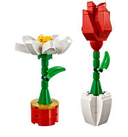Lego Iconic Цветы 40187, фото 5