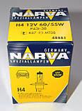"""Автомобильная галогеновая лампа """"NARVA"""" (H4)(12V)(60/55W), фото 3"""
