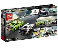 Lego Speed Champions Porsche 911 RSR и 911 Turbo 3.0 75888, фото 2