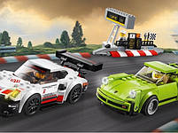 Lego Speed Champions Porsche 911 RSR и 911 Turbo 3.0 75888, фото 3