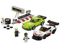 Lego Speed Champions Porsche 911 RSR и 911 Turbo 3.0 75888, фото 4