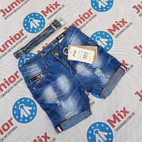 Подростковые джинсовые шорты для мальчиков оптом F&D