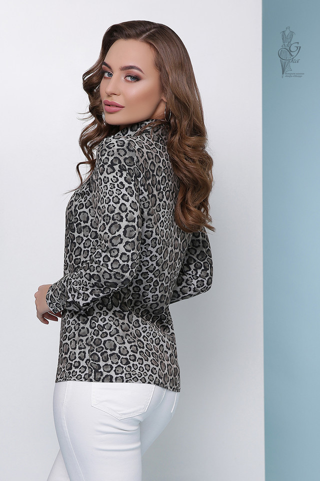 Фото-4 Леопардовой блузки Амалия