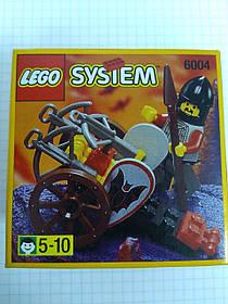 Lego System Castle Fright Knights Crossbow Cart Повозка с арбалетами 6004