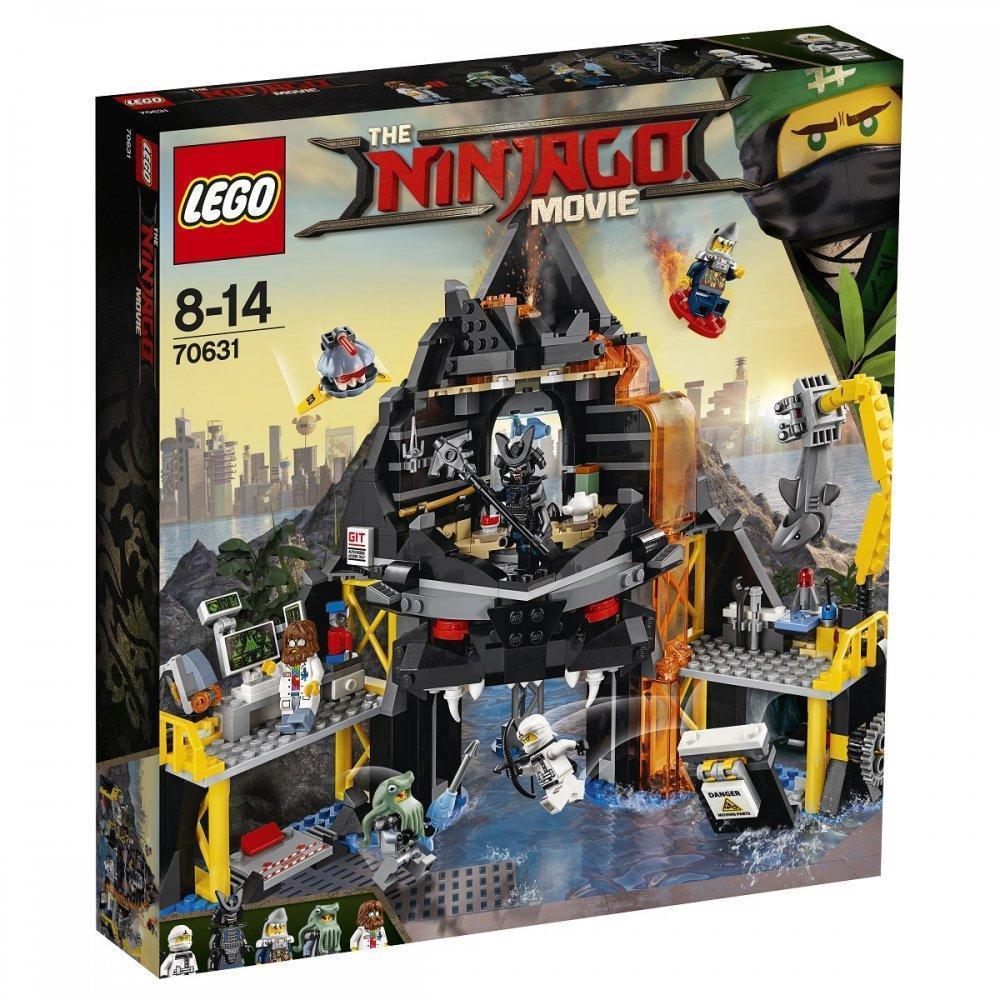 Lego Ninjago Movie Вулканическое логово Гармадона 70631