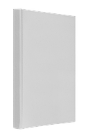 Папка регистратор Панорама a4 panta plast 0316-0022-09 белая ширина торца 25 мм