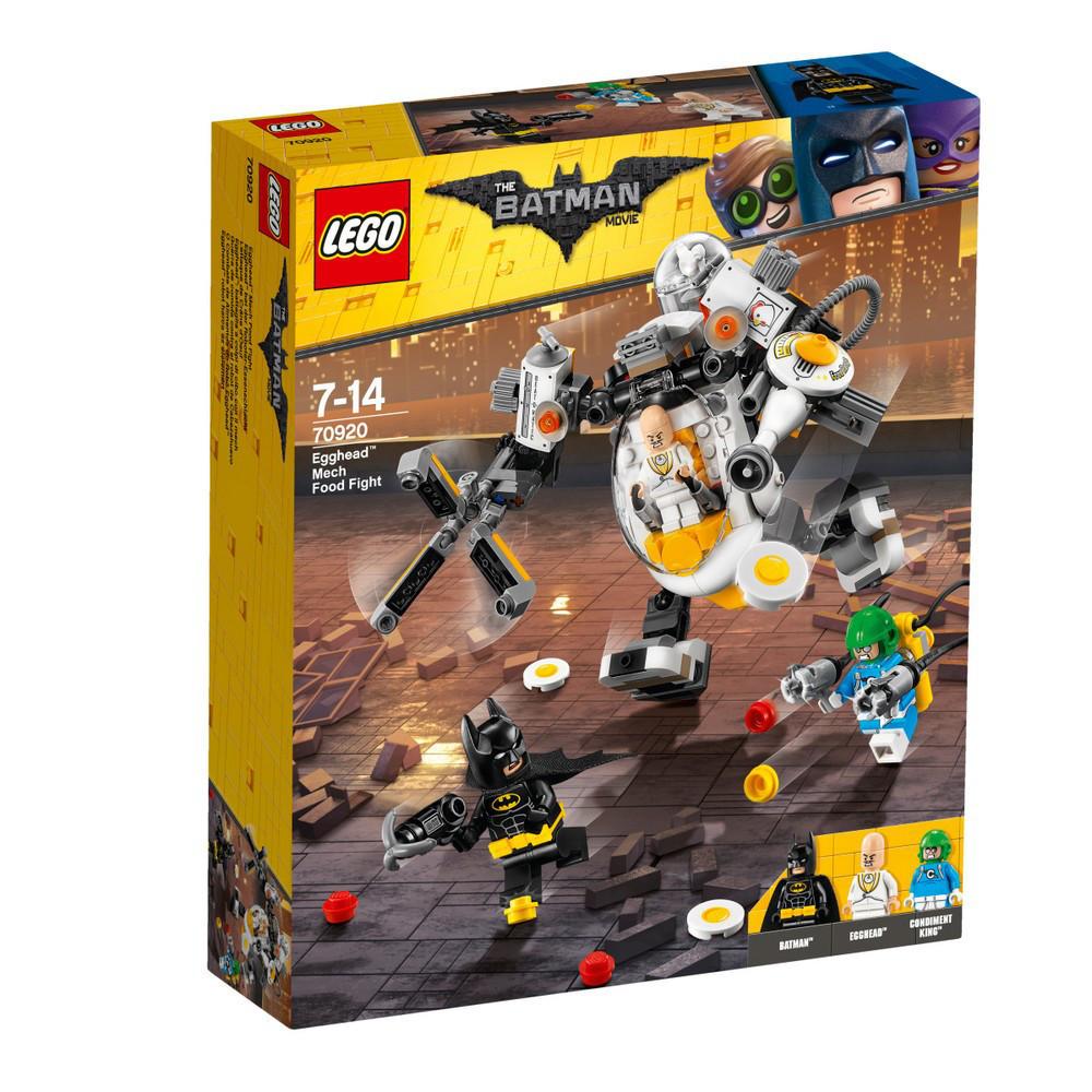 Lego Batman Movie Битва едой с Яйцеголовым 70920
