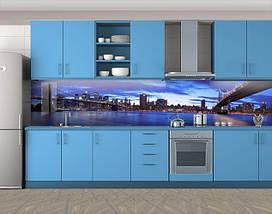 Самоклеящаяся стеновая панель для кухни, 60 х 300 см. С защитной ламинацией, фото 3
