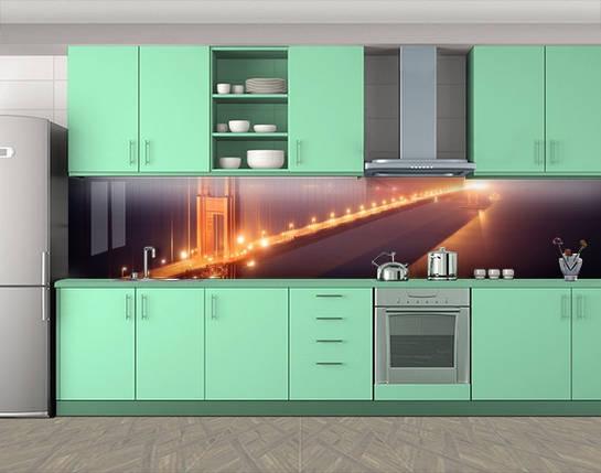 Кухонный фартук на самоклеящееся пленке с фотопечатью, 60 х 300 см. С защитной ламинацией, фото 2