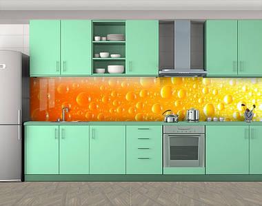 Самоклеящаяся стеновая панель для кухни, 60 х 300 см. С защитной ламинацией