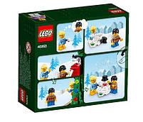 Lego Iconic Новогодняя городская площадь 40263, фото 2