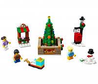 Lego Iconic Новогодняя городская площадь 40263, фото 3