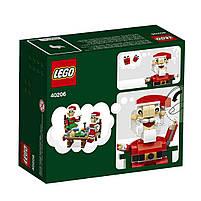 Lego Iconic Санта 40206, фото 2