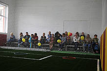 Заградительная сетка для детской футбольной школы