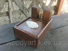 Набор для специй деревянный №4