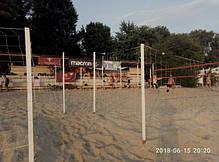 Оградительная сетка для волейбольной площадки