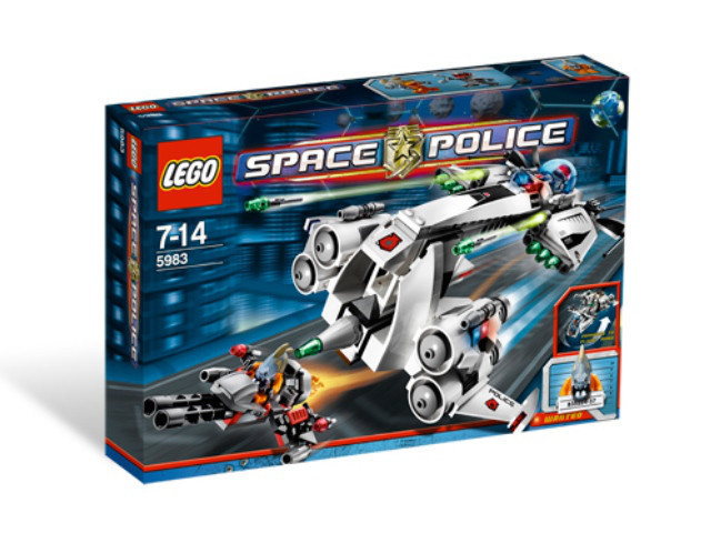 Lego Space Police Тайный крейсер 5983