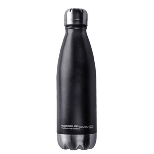 Термопляшка Asobu 0,51 л SBV17 Black/Silver