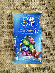 Moser Roth Mini Ostereier Edel Vollmilch Шоколадные пасхальные яйца 150 грамм