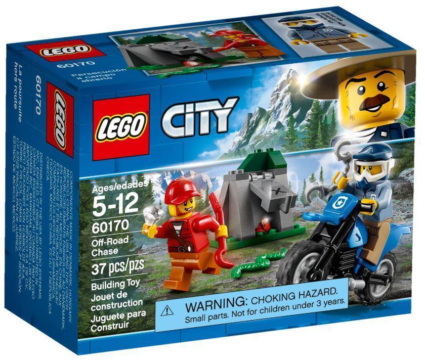 Lego City Погоня по бездорожью 60170