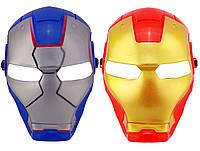 Маска пластик Железный человек (2 цвета)