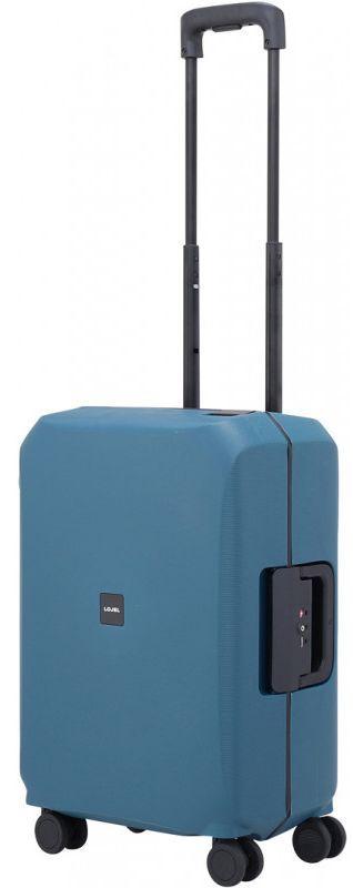 Пластиковый чемодан малый Lojel VOJA Lj-PP12S_IBL 37 л, синий