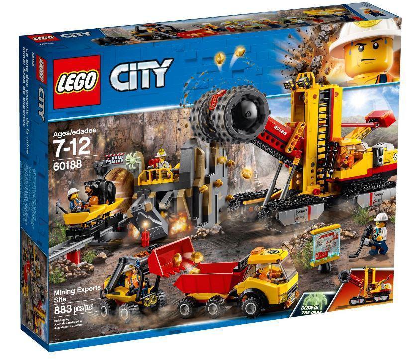 Lego City Зона горных экспертов 60188