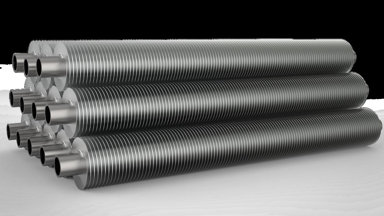 Труба электросварная оребренная 25мм, фото 1