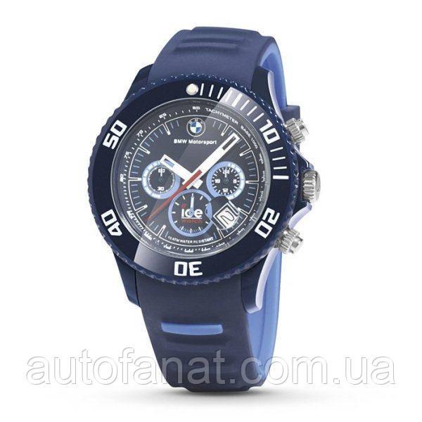 Оригинальные часы BMW Motorsport ICE Watch Chrono, Blue/Light Blue (80262285901)
