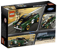 Lego Speed Champions 1968 Форд Мустанг Фастбэк 75884, фото 2