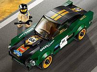 Lego Speed Champions 1968 Форд Мустанг Фастбэк 75884, фото 3