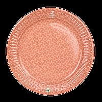 Тарелка картонная Оранжевая  ХТ23 25шт/уп (1ящ/32уп/800шт)