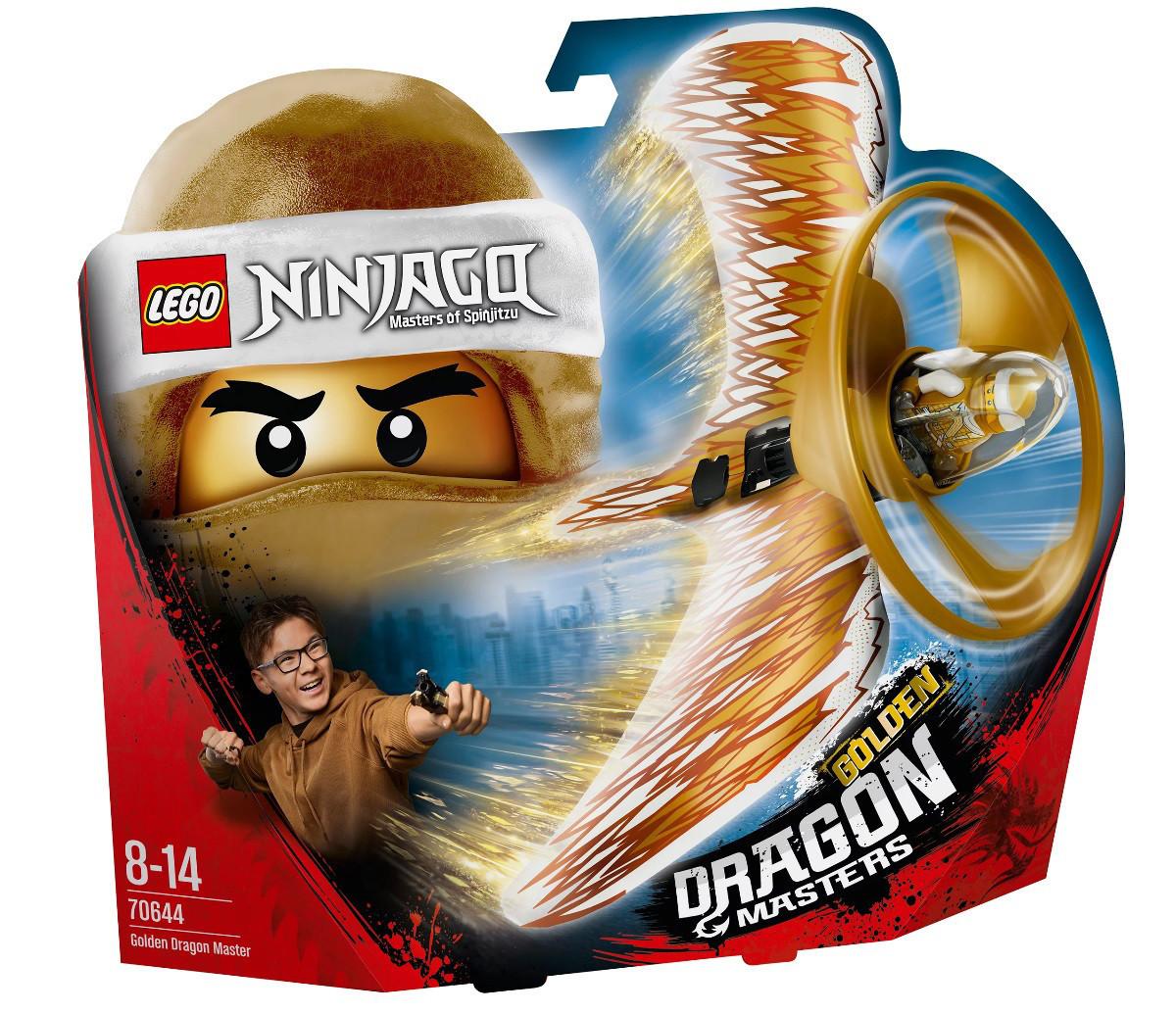 Lego Ninjago Повелитель Золотого дракона 70644