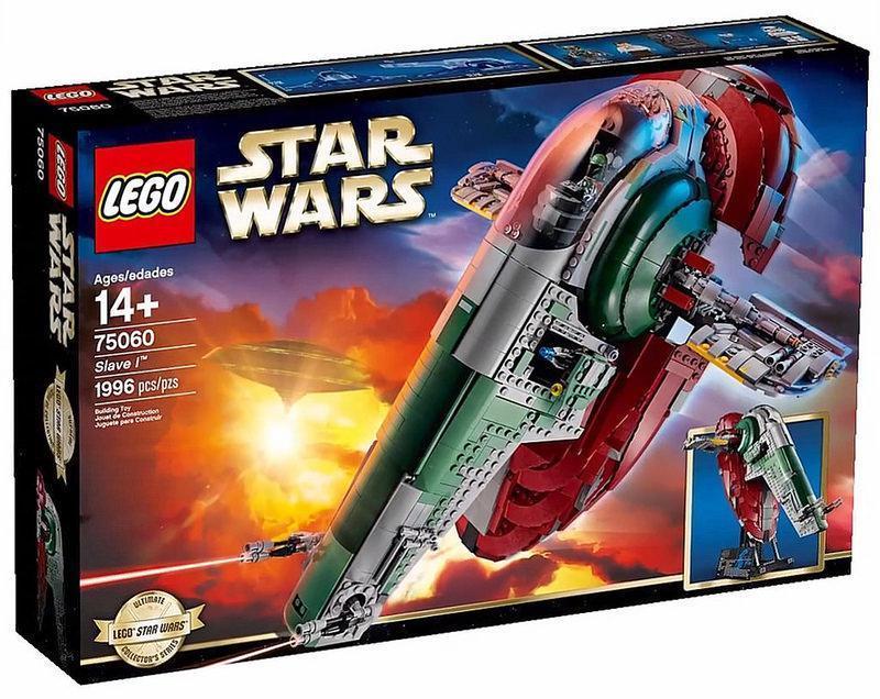Lego Star Wars Слейв I 75060