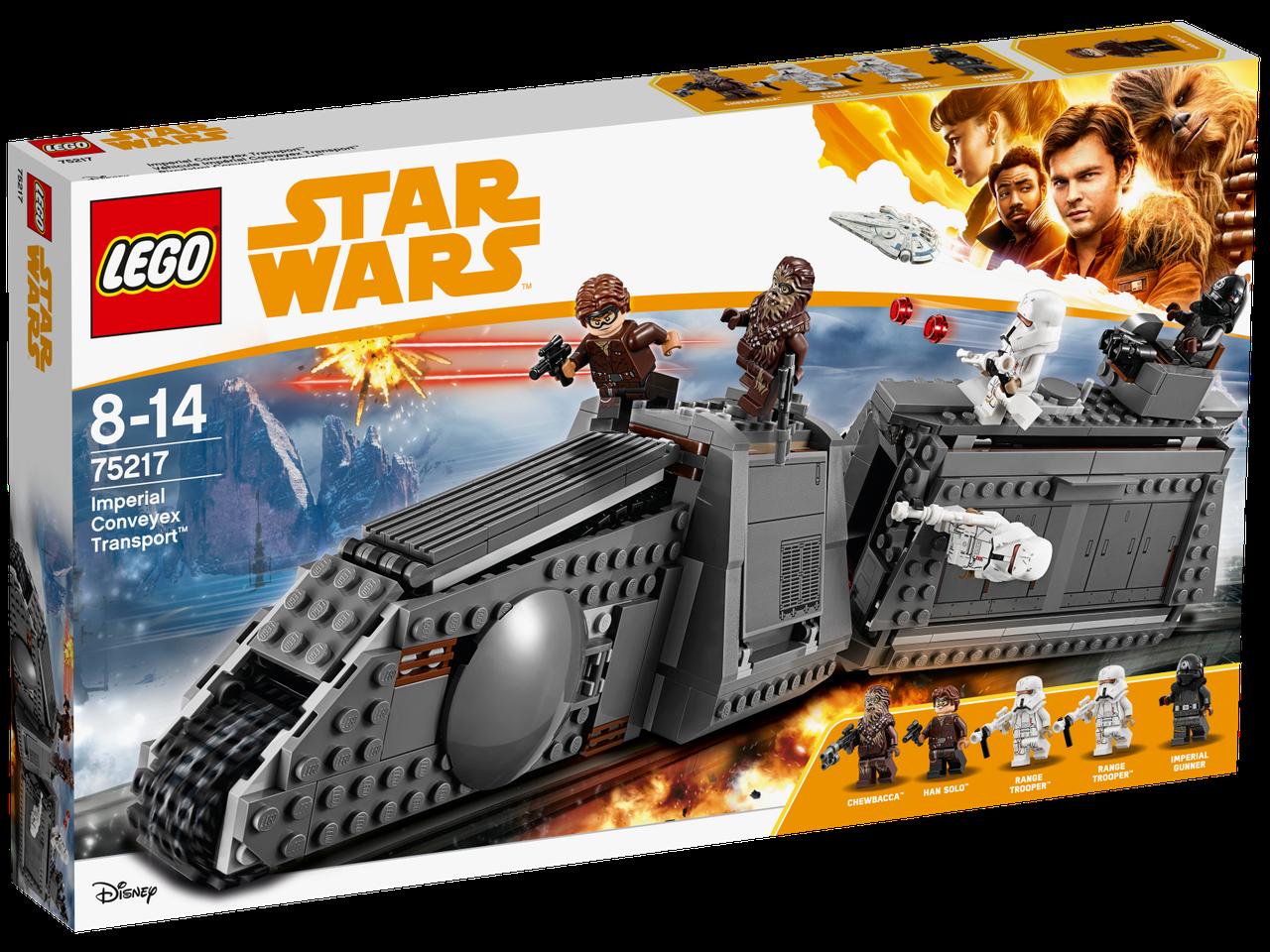 Lego Star Wars Имперский транспорт 75217