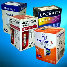 Тест-полоски для глюкометров