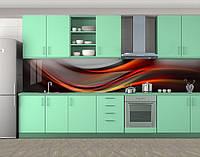 Кухонный фартук на самоклеящееся пленке с фотопечатью, 60 х 300 см. С защитной ламинацией