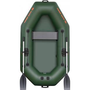 Надувная лодка Kolibri К-220 Стандарт с пайолом слань-коврик