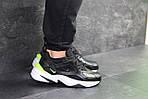 Мужские кроссовки Nike M2K Tekno (черно-белые), фото 3