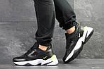 Мужские кроссовки Nike M2K Tekno (черно-белые), фото 4