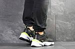 Мужские кроссовки Nike M2K Tekno (черно-белые), фото 5