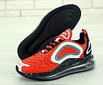 Мужские кроссовки Nike Air Max 720 (красно-белые) , фото 4