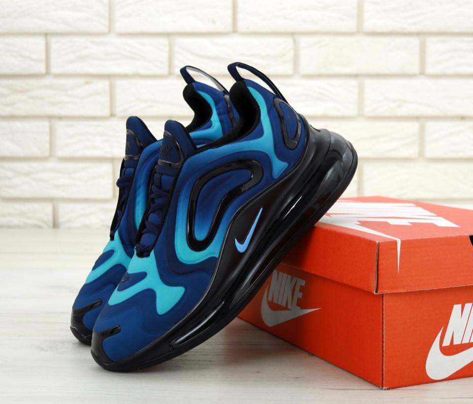 Мужские кроссовки Nike Air Max 720 (сине-голубые)