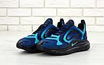 Мужские кроссовки Nike Air Max 720 (сине-голубые) , фото 3