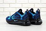 Мужские кроссовки Nike Air Max 720 (сине-голубые) , фото 5